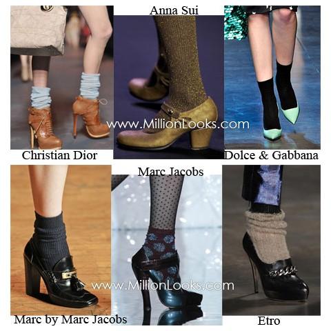 коллекция модной женской обуви осень зима 2011 2012