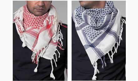 Как завязать палестинскую арафатку на шее