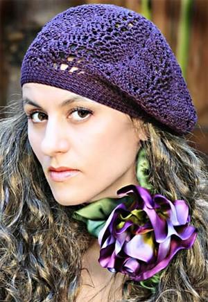женские шапки 2011-2012 береты