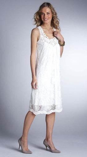Гипюровое платье – волшебство