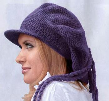 женские шапки 2011-2012