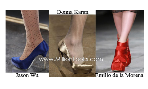 женская обувь на осень и зиму 2011 - 2012