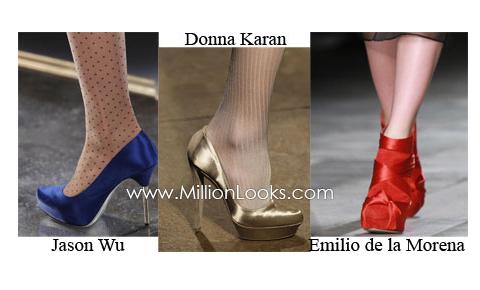 модные женские туфли коллекции 2011 года