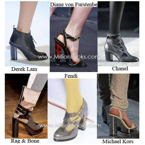 коллекция женской обуви 2011-2012