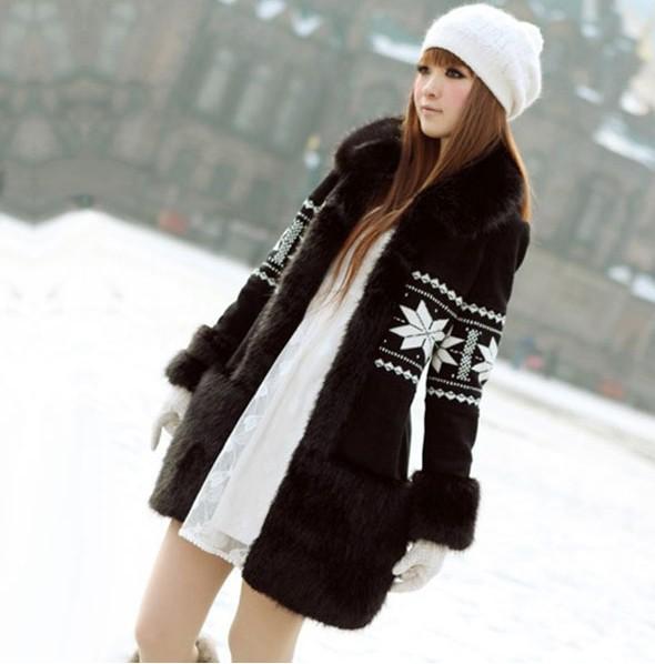 Модные зимние куртки для девушек
