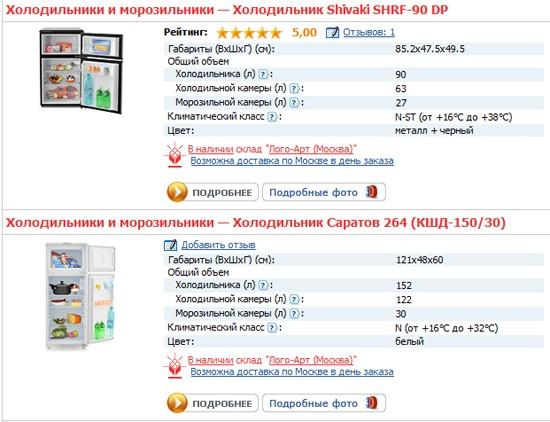 холодильник.ру отзывы