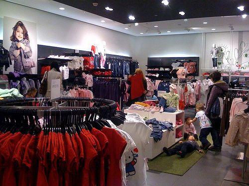 Товары в магазинах H&M