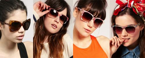 солнечные очки для женщин коллекции 2011 года фото
