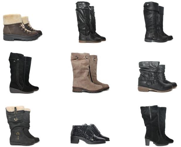Магазины женской и мужской обуви rieker