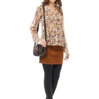 Советы дизайнеров — с чем носить коричневую юбку в этом сезоне