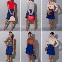 Особенности летнего гардероба: с чем носить синюю юбку