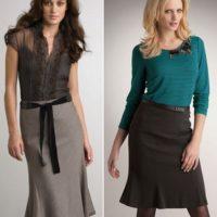 Дизайнеры рекомендуют: с чем носить юбку годе