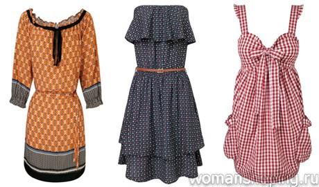 коллекция - винтажные платья 2011 на весну и лето