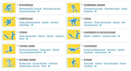 интернет магазин Триал спорт