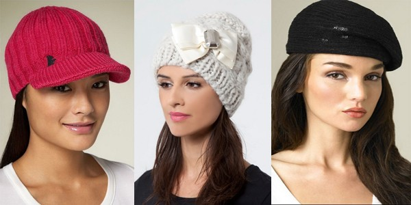 модные вязанные шапки для женщин
